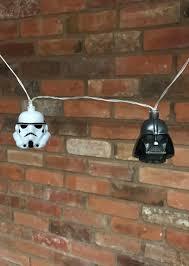Star Wars String Lights Star Wars Darth Vader Stormtrooper Mixed 3d String Lights