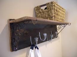 Rustic Wall Coat Rack With Shelf Furniture Coat Rack Shelf New Diy Rustic Coat Rack And Shelf 54