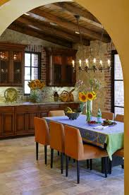 lighting in the kitchen in the italian style stylized antique chandeliers