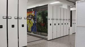 mobile art rack painting storage