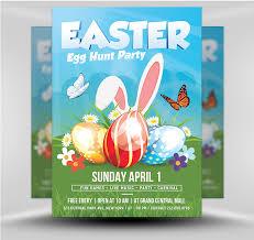Easter Party Flyer Template V1 Flyerheroes