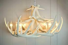 full size of real whitetail antler chandelier deer white australia faux home improvement gorgeous living attractive