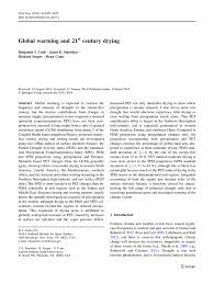 Global warming research paper introduction