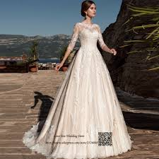 2017 Arab Country Western Wedding Dresses Turkey Lace Wedding
