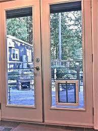 sliding screen doggie door door with door built in pet door storm door with dog door