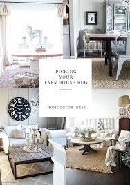 farmhouse living room rug area rugs modern ideas
