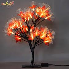 Fiber Optic Blossom Led String Lights Luminarias Led Cherry Blossom Tree Light Night Lights Table