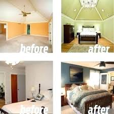 Master Bedroom Before And After Before And After Bedroom Renovations Best  Renovation Images On Before After