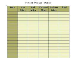 Mileage Expense Template Vehicle Log Book Format Auto Template 9 Expense Record