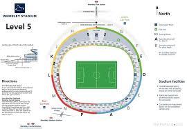 Nice The Elegant Wembley Stadium Seating Plan Seat Numbers
