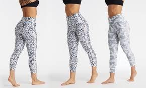Bally Fitness Size Chart Bally Total Fitness Womens High Rise Lattice Leggings Groupon