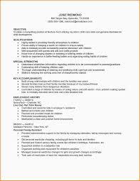 Awesome Babysitter Job Description Resume Contemporary Resume