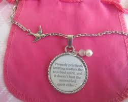 Hymn Quote Necklace Pendant Is Well With My by TheSmileEmporium via Relatably.com