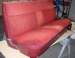 1987 chevy gmc front bench seat covers