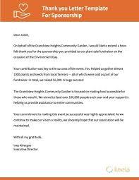 Gratitude Letter Template Nonprofit Thank You Letter Templates