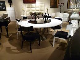 round modern dining table sets