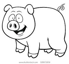 Coloring Best Pig Coloring Pages Printable Color Pig Printable