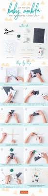 how to make a diy baby mobile for your
