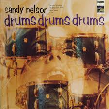 Sandy Nelson - Drums, Drums, Drums! - Vinyl LP - 1968 - DE - Reissue   HHV