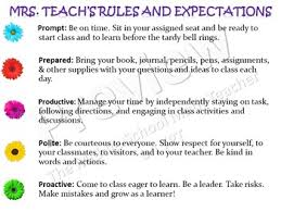 classroom rules template classroom rules and computer station rules templates tpt