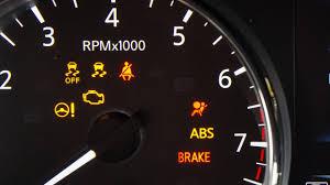 Nissan Rogue 2019 Dash Lights 2018 Nissan Rogue Sport Warning And Indicator Lights