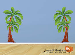 Palm Tree Decor For Bedroom Contemporary Kids Bedroom Decoration Ideas With Nice Palm Tree