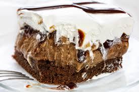 Brownie Rocky Road Ice Cream Cake I Am Baker