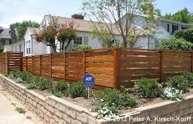 horizontal fence styles. Horizontal Wood Fence Styles O