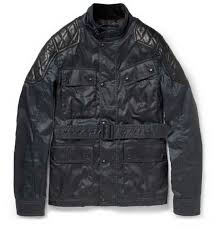 brand new with tags mens belstaff darlington coated twill and leather jacket belstaff leather jacket