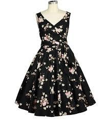 Tea Collection Size Chart Pinup Vintage Rose Tea Dress