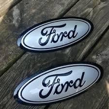 ford emblem. Unique Ford Image Is Loading 201517FordF150GRILLampTAILGATEemblem Intended Ford Emblem U