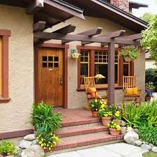 the front doorRecrafting a 1915 Craftsman  Craftsman Front entry and Pergolas