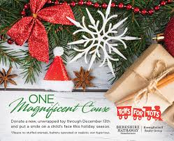 drop off toy donations at any of the following berkshire hathaway homeservices koenigrubloff realty group office locations through december 13th