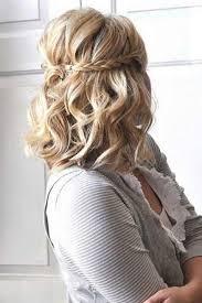 Image Coiffure Simple Cheveux Mi Long Pour Mariage Coupe De