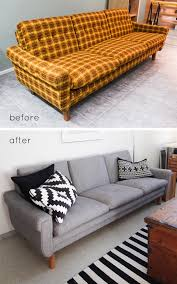 it can be hard to justify a new sofa purchase my reupholstered