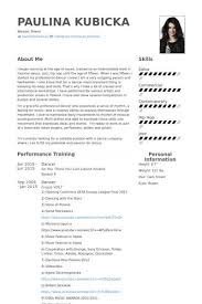 Dance Resumeresume Prime Best Non Profit Resume Examples Beautiful How Write A Resume For A Job