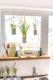 Frühling Am Fenster Mit Upcycling Blumenampeln Leelah Loves