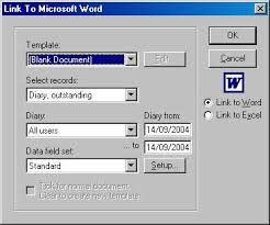 How To Create A Diary In Word Diary Word Processor Links