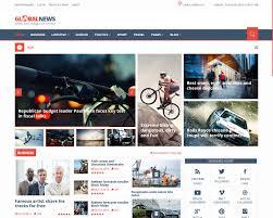 Website Template Newspaper 009 Driving School Free Dreamweaver News Website Templates
