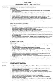 Senior Database Administrator Resume Luxury Senior Data Engineer