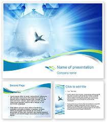 Microsoft Word Presentation Template Dove Powerpoint Template Dove Background For Powerpoint