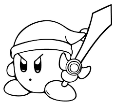 Kirby has been a popular character since the first kirby game was released on the nintendo entertainment system. Kirby Coloring Pages 1nza