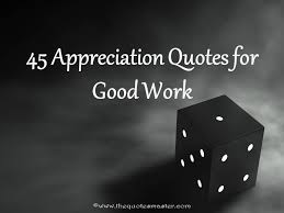 Appreciation quotes