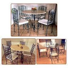 steel dining set living room furniture pune