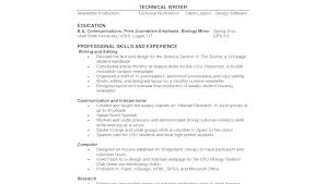 Resume Objective Section Sample Biology Resume Objective Resume Objective Resume For Hospital Resume ...