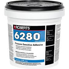 pressure sensitive carpet and vinyl glue adhesive