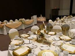 50th wedding anniversary table