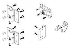 Bathroom Partitions Hardware Cool Bradley Toilet Partition Door Hardware Kit Flat Strike HDWCSD48