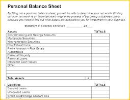 Financial Spreadsheet Template Personal Budget Sheet