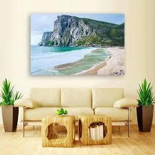 beach canvas wall art amazing cliff beach canvas wall art multi panel canvas wall art beach